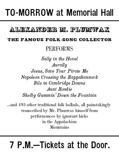 folk-song-collector