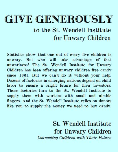 st-wendell-institute-for-unwary-children