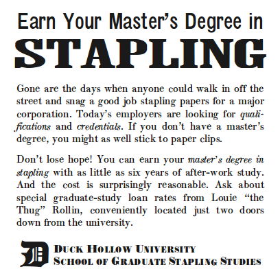 duck-hollow-earn-your-marsetrs-degree-in-stapling