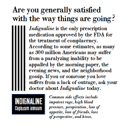 Indignaline-for-complacency