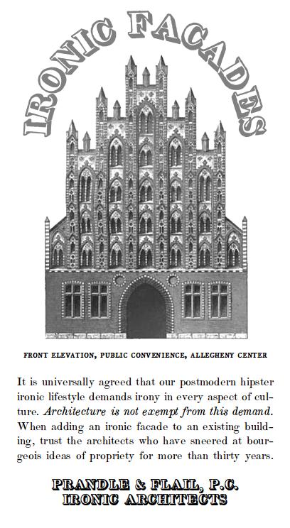 ironic-facades