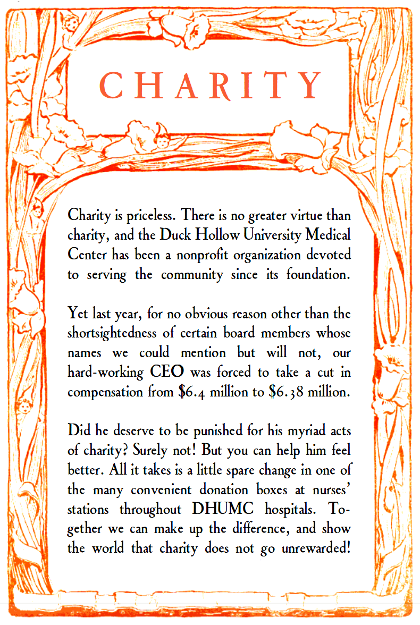 charity-duck-hollow-university-medical-center