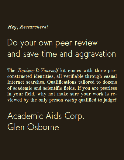 do-your-own-peer-review