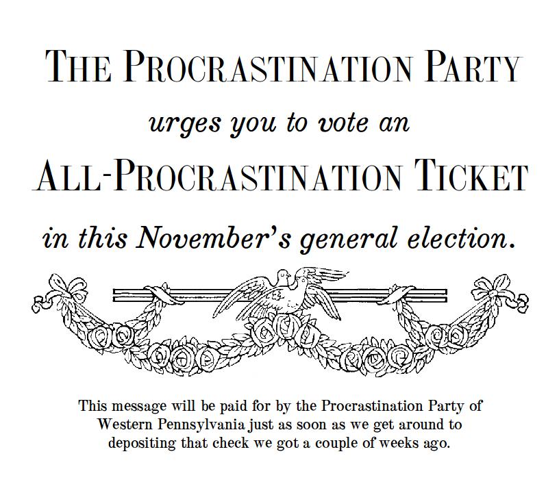 procrastination-party