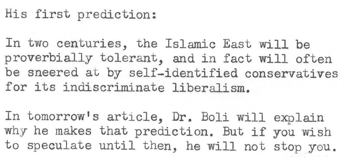 Predicting the Future 04