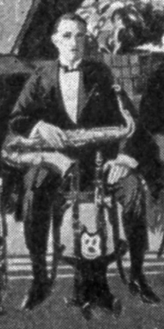 Paul Whiteman, 1920, detail