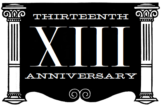 thirteenth-anniversary