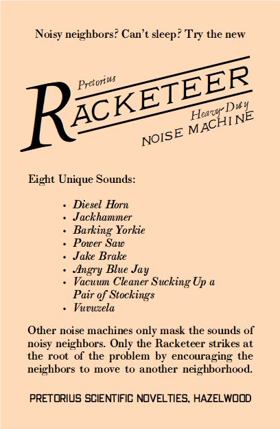 Pretorius-Racketeer-Noise-Machine