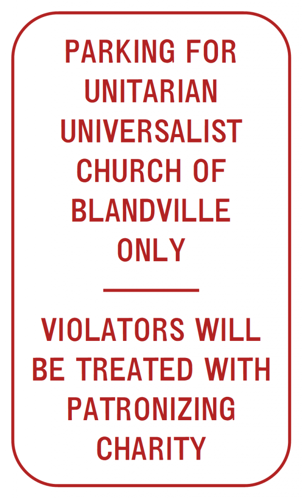 parking-for-unitarian-universalist-church