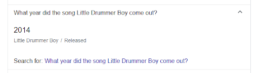 what-year-did-the-sog-little-drummer-boy-come-out